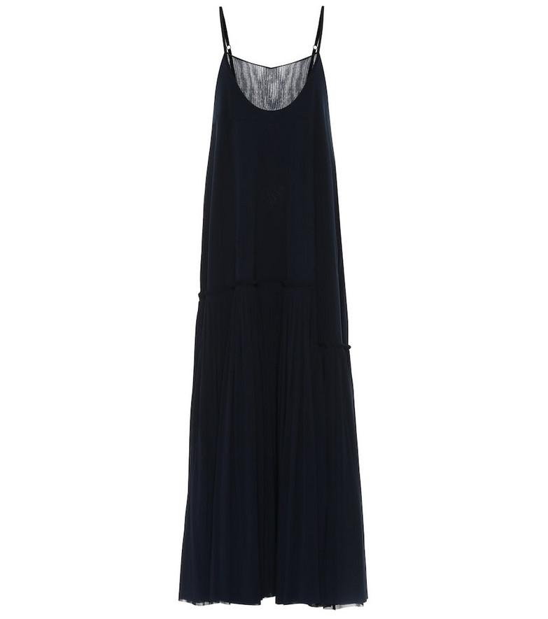 Jil Sander Maxi dress in blue