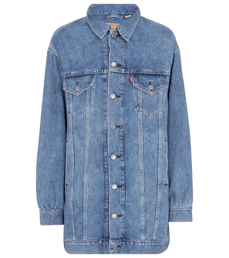 Ganni x Levi's® denim minidress in blue
