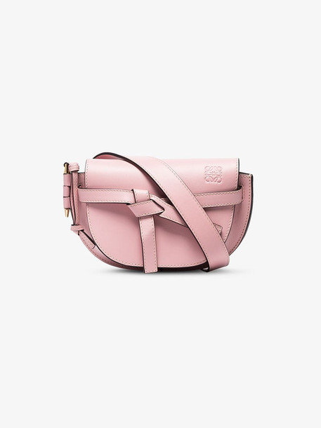 Loewe pink Gate mini leather belt bag