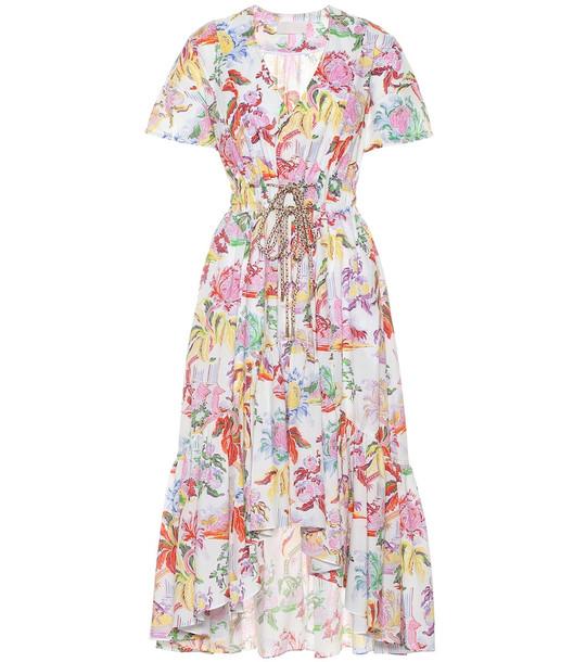 Peter Pilotto Floral cotton midi dress
