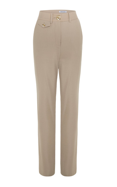 Anna Quan Roxy Pants Size: 4 in neutral
