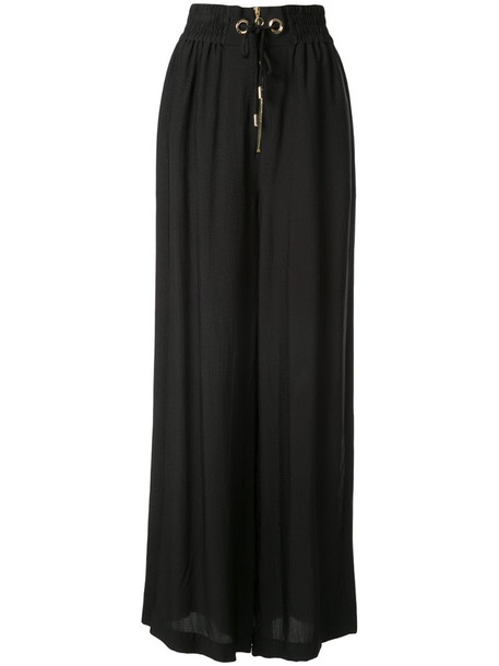 Alice McCall gathered palazzo trousers in black
