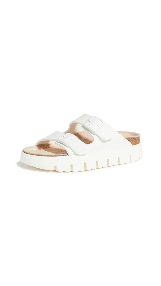 Birkenstock Arizona Chunky Sandals - Narrow in white