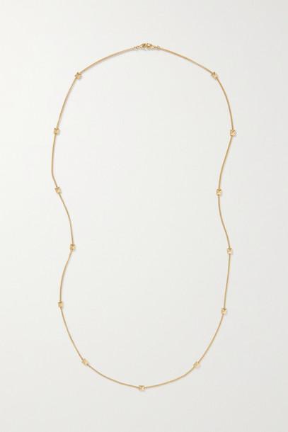 VALENTINO - Valentino Garavani Rockstud Gold-tone Necklace - one size