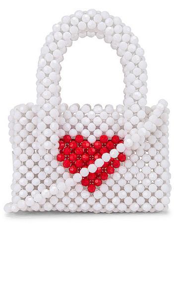 Lovers + Friends Lovers + Friends Rachel Micro Purse in White