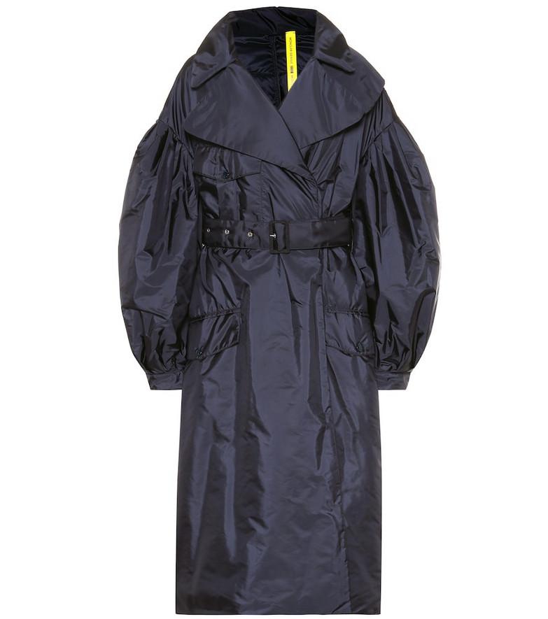 4 MONCLER GENIUS Dinah coat in blue