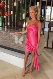 dress,kristin cavallari,celebrity,pink,pink dress,summer dress