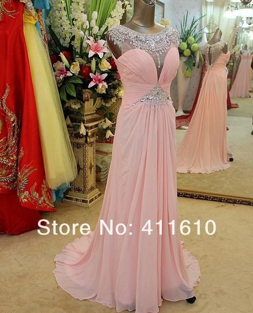dress beaded dress evening dress 2014 new dresses