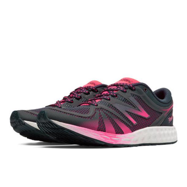 New Balance Fresh Foam 822v2 Trainer Women's Cross-Training Shoes - Black, Pink (WX822BP2)