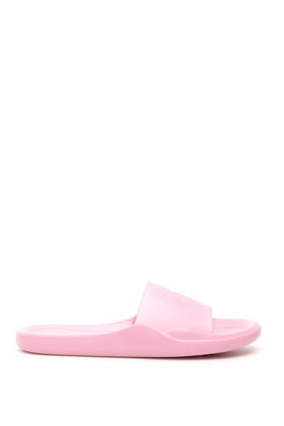 Kenzo Tiger Slides in pink