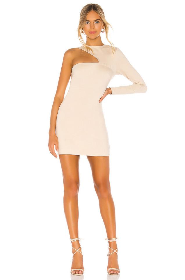 Donna Mizani Splice Dress in cream