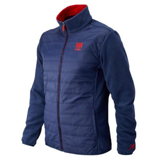 New Balance 53602 Men's NB996 Fleece Lined Jacket - Sailor Blue, Embers, White (AMJ53602SIB)