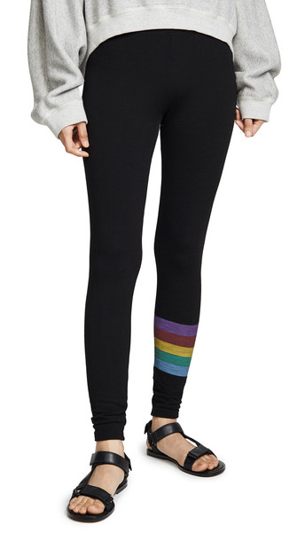 SUNDRY Yoga Pants in black
