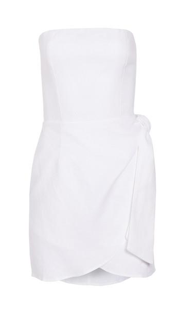 Reformation Turnip Dress in white