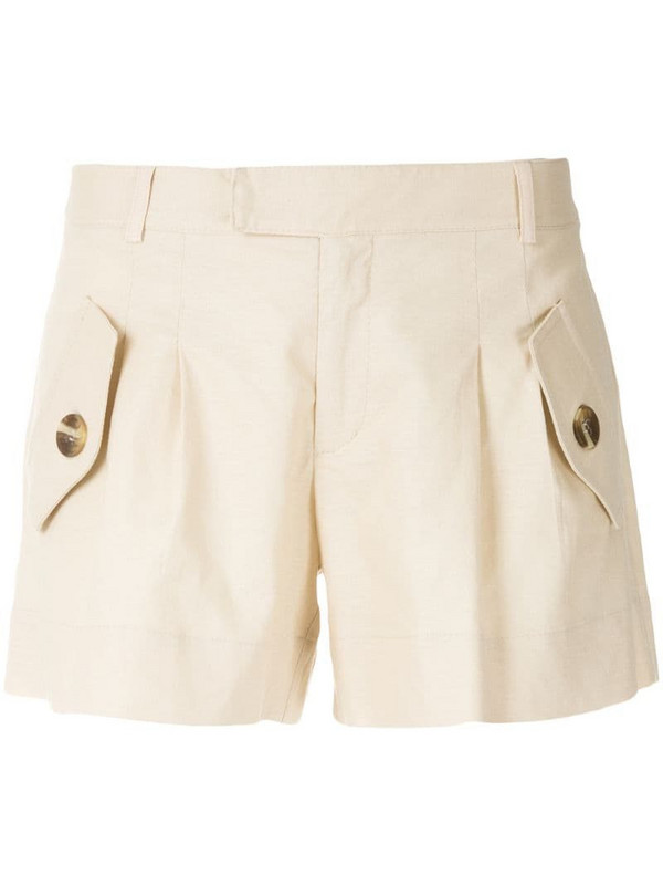 Olympiah Bryone pockets shorts in neutrals