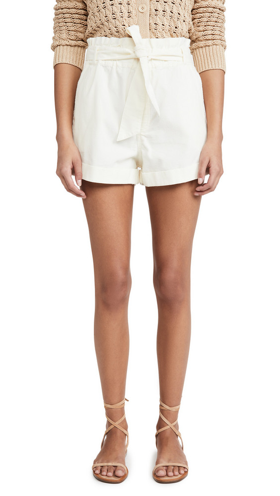 Knot Sisters Jade Shorts in cream