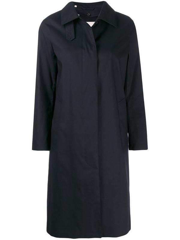 Mackintosh Dunkled Raintec coat in black