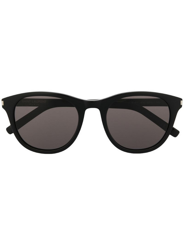 Saint Laurent Eyewear SL 401 round-frame sunglasses in black