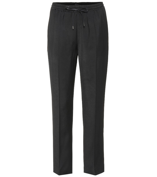 Joseph Dino twill track pants in black