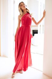 dress,red,formal dress,prom dress,party,maxi dress