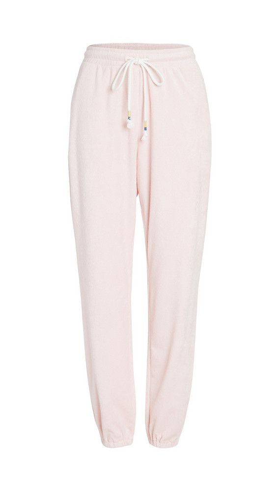 The Upside Florencia Track Pants in rose