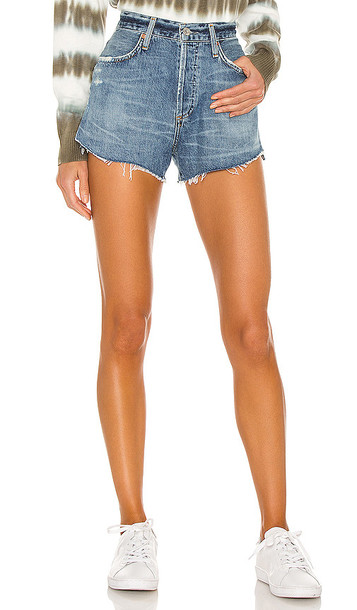 Citizens of Humanity Annabelle Cut Off Short in Blue