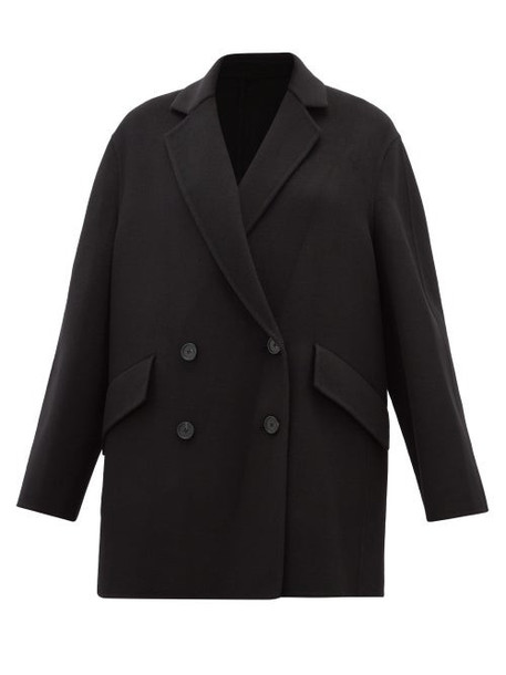 Joseph - Milburn Wool And Cashmere-blend Coat - Womens - Black
