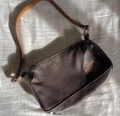 bag,harley-davidson,handbag,vintage,preloved,leather,shoulder bag