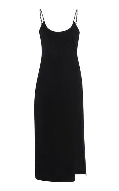 Cushnie Embellished Cady Dress Size: 0 in black