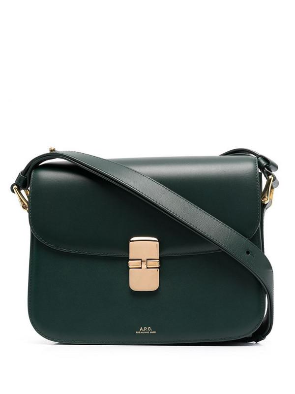 A.P.C. Grace crossbody bag in green