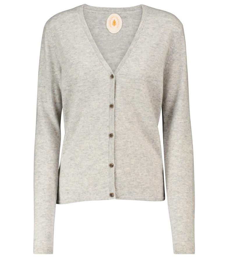 Jardin des Orangers Cashmere cardigan in grey