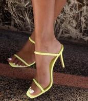 shoes,sandals,neon,high heels