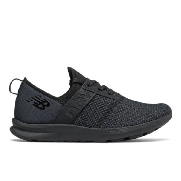 New Balance FuelCore NERGIZE Women's Cross-Training Shoes - Black/Grey (WXNRGSK)
