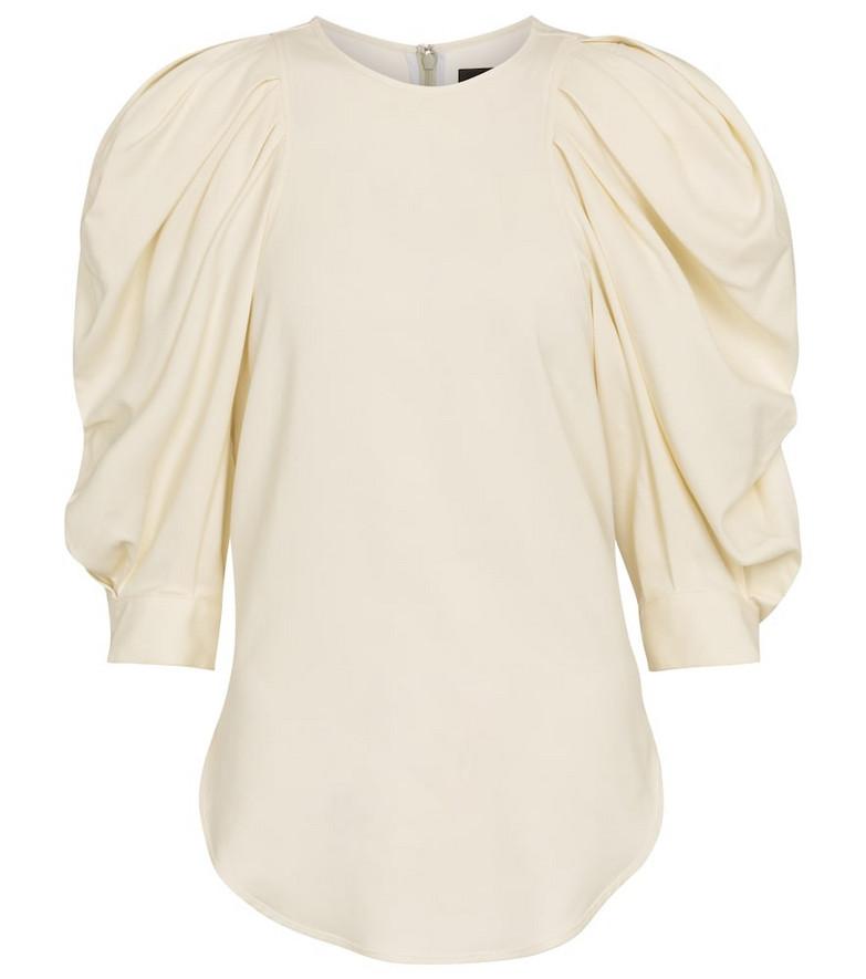 Isabel Marant Surya blouse in white