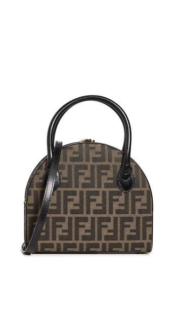 What Goes Around Comes Around Fendi Brown Zucca Handbag