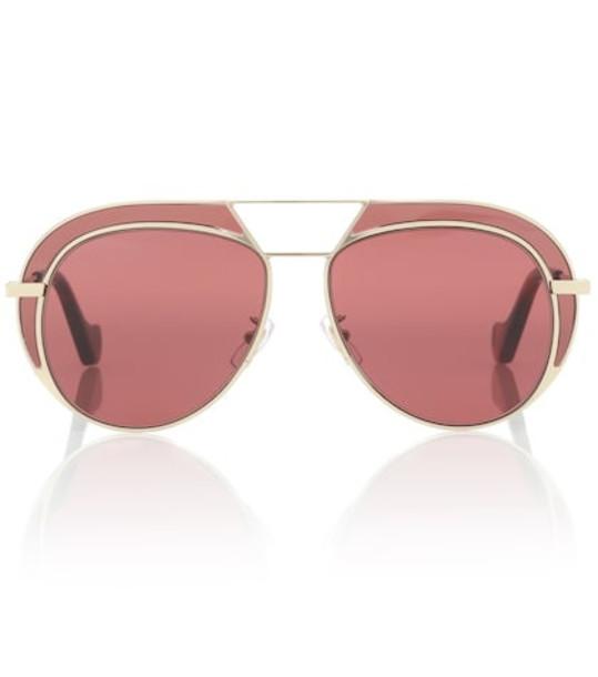 Loewe Aviator sunglasses in pink