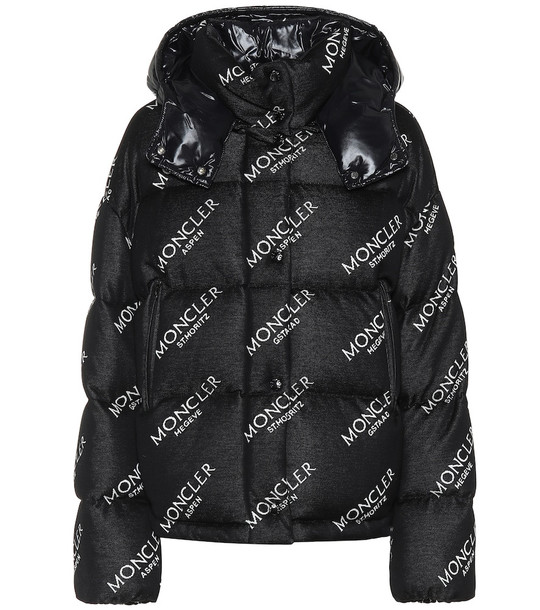 Moncler Caille puffer jacket in black