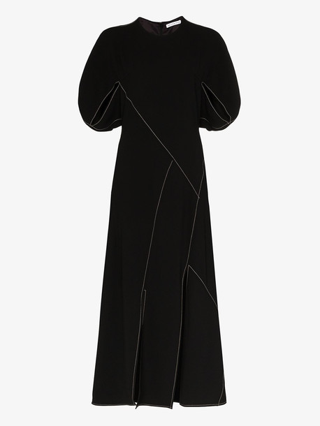 Rejina Pyo Lucinda panelled maxi dress in black