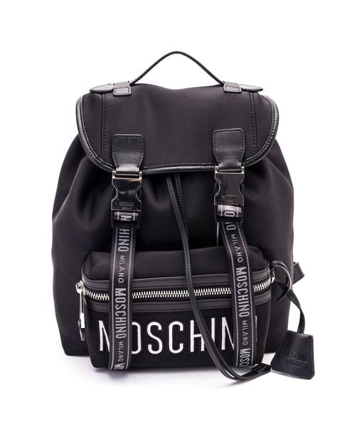 Moschino Moschino Neoprene Backpack in black