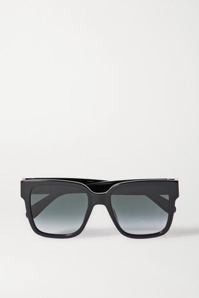 Givenchy - Oversized Square-frame Acetate Sunglasses - Black