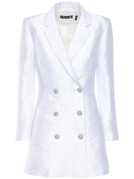 ROTATE Newton Blazer Dress in white
