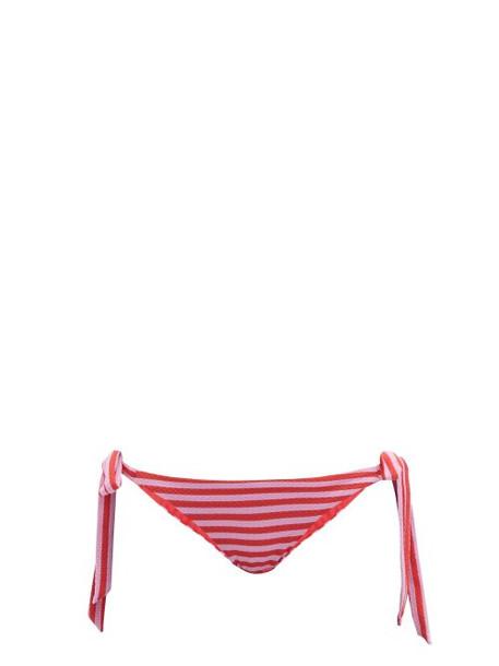 Casa Raki - Cindy Tie Side Bikini Briefs - Womens - Red Stripe
