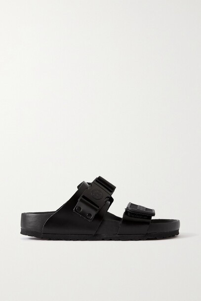Rick Owens - + Birkenstock Rotterdam Leather Sandals - Black