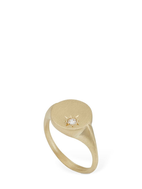 LIL 9kt Sunshine Ring W/zircon in gold