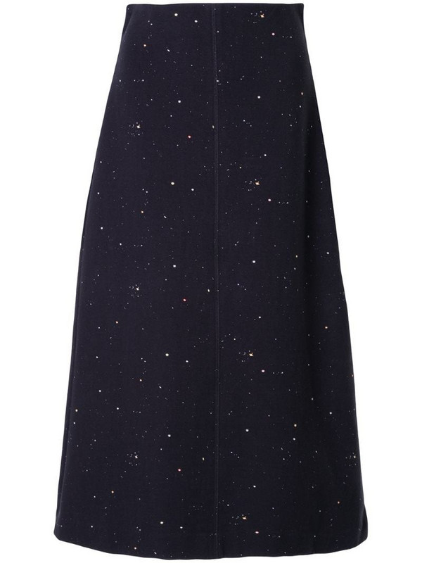 Ginger & Smart Solar midi skirt in black