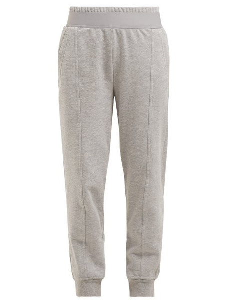 pants track pants cotton grey