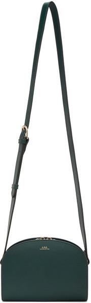 A.P.C. A.P.C. Green Mini Demi-Lune Bag