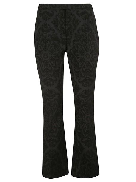 Saint Laurent Jacquard Print Trousers