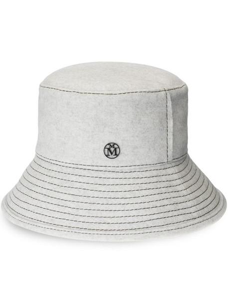Maison Michel Angele bucket hat in white