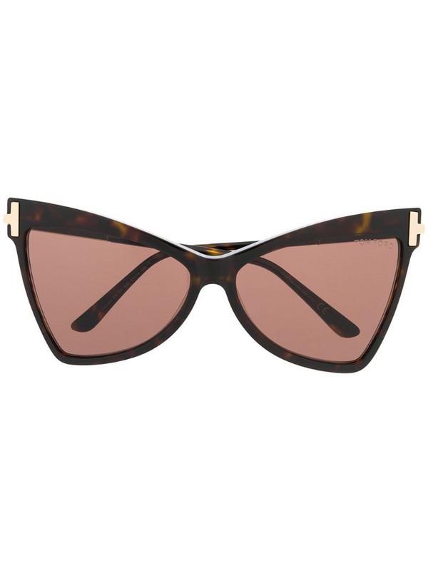 Tom Ford Eyewear Tallulah sunglasses in brown